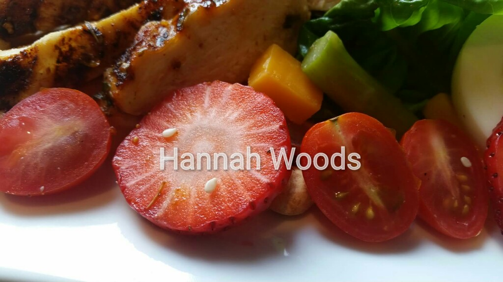 Grilled Herb Chicken & Tomato, Asparagus & Strawberry ...